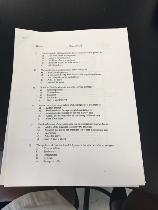 infection control study guide answers