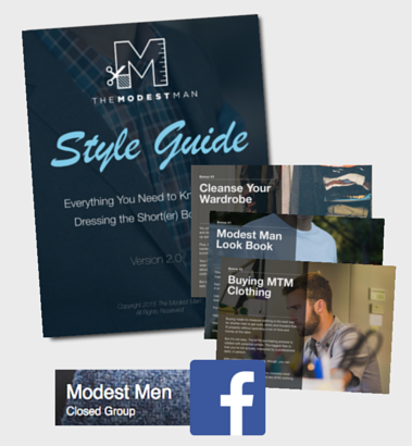 the modest man style guide pdf