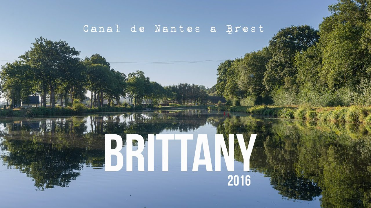 the nantes brest canal a brittany guide