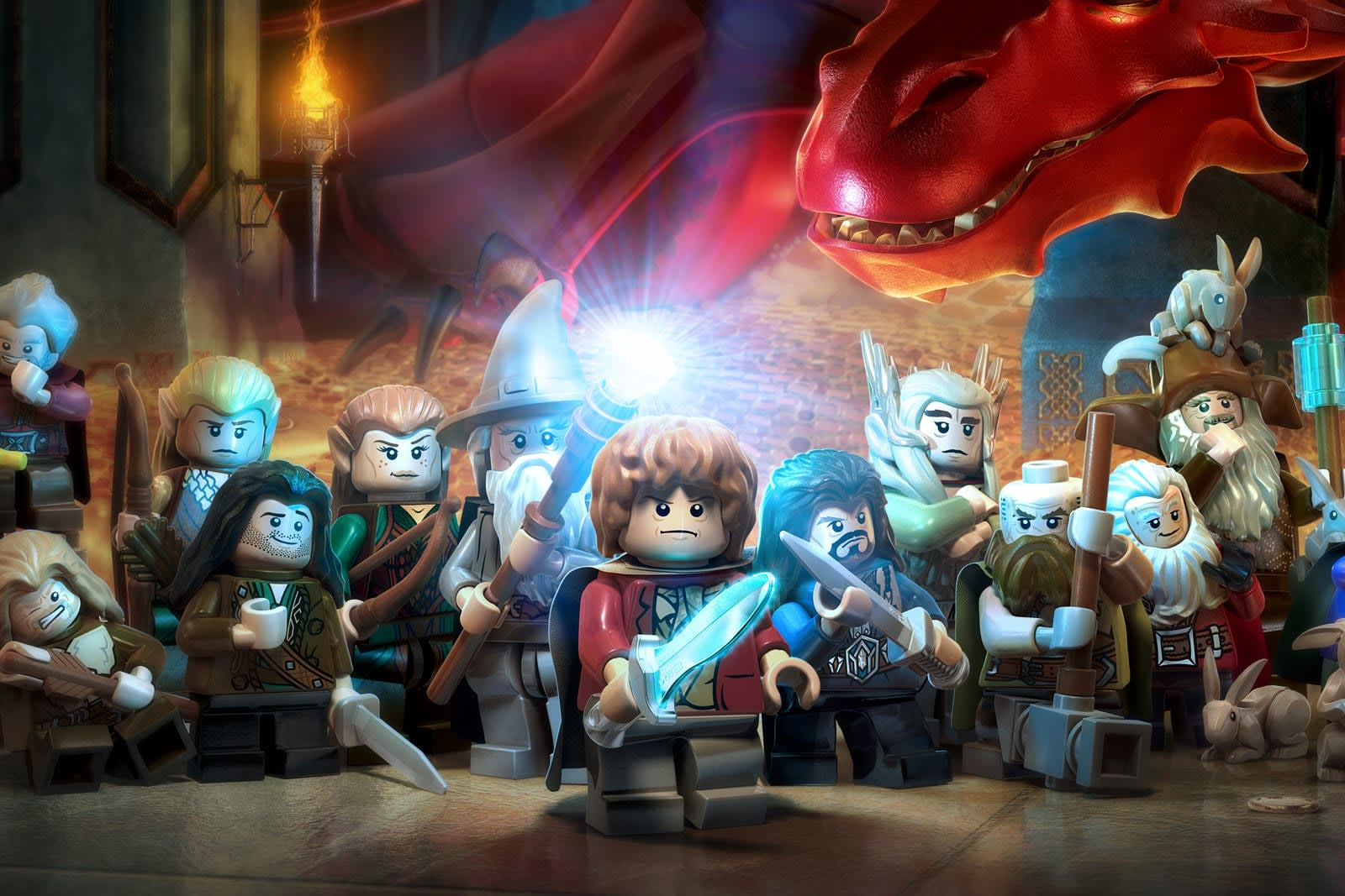 lego lord of the rings game guide