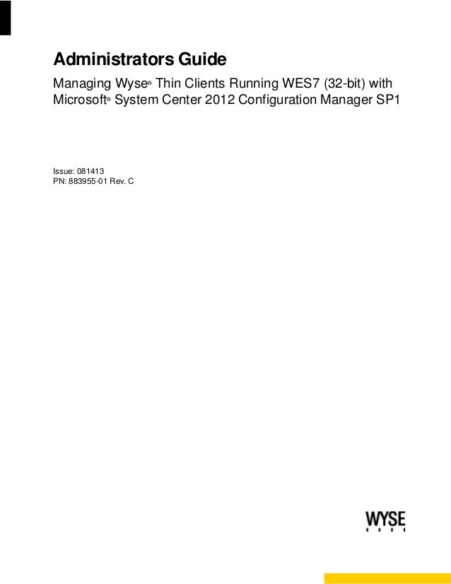 wyse thin client configuration guide