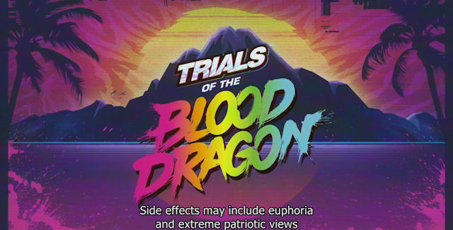 trials of the blood dragon trophy guide