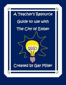 city of ember study guide pdf