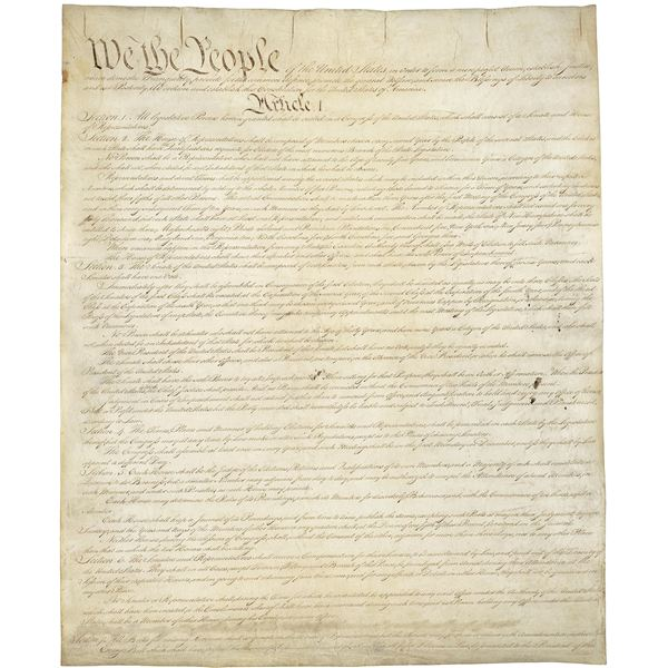 a written document that guides a nation is its