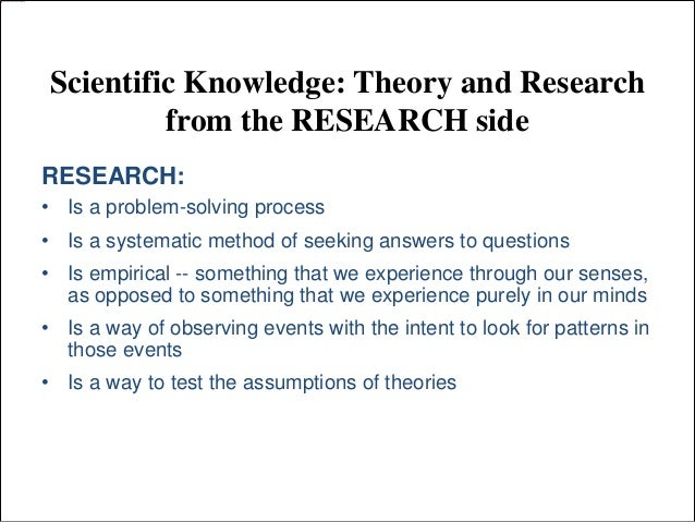 research on human behavior a systematic guide to method