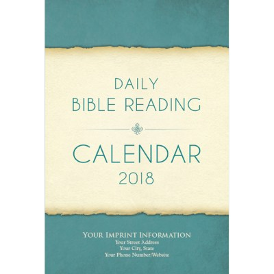 daily bible reading guide 2018