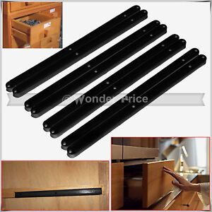 plastic guide rails for grooved drawers