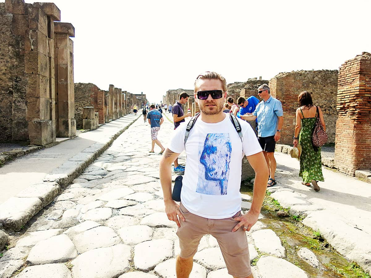 pompeii guide to the site
