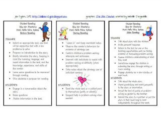 what to do during guided reading